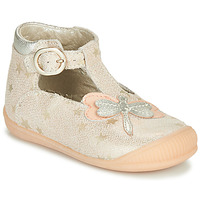 Schuhe Mädchen Sandalen / Sandaletten Little Mary GLYCINE *STAR NUDE