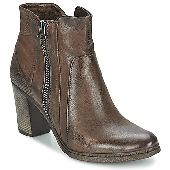 Schuhe Damen Low Boots Dream in Green ELIZAVETA Maulwurf