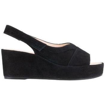 Schuhe Damen Sandalen / Sandaletten Högl Pappilon Schwarz Sandalen Schwarz