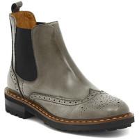 Schuhe Damen Boots Moda TRONCHETTO  STILE INGLESE  FUME    112,9