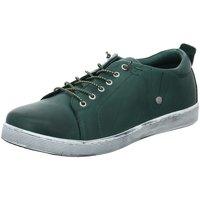 Schuhe Damen Sneaker Low Andrea Conti Schnuerschuhe Grüner Sneaker 0348736-112 grün