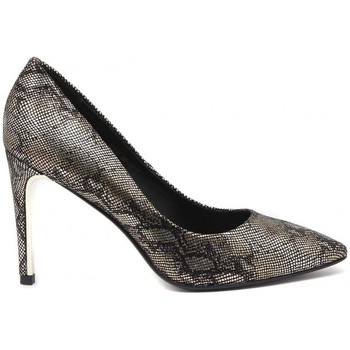 Schuhe Damen Pumps Luciano Barachini DECOLTE PITONATO ORO Multicolore