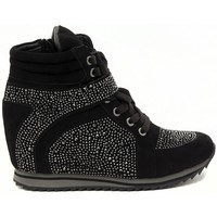 Schuhe Damen Sneaker High Albano SNEAKERS BRILLANTINI  NERO    147,9