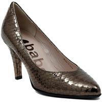 Schuhe Damen Pumps Le Babe DECOLTE STAMPATO ACCIAIO Multicolore