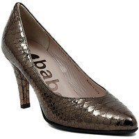Schuhe Damen Pumps Le Babe DECOLTE STAMPATO ACCIAIO    104,1