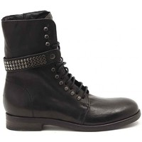 Schuhe Damen Boots Juice Shoes TRONCHETTO STRIKE NERO Multicolore