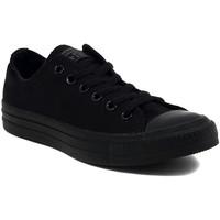 Schuhe Sneaker Low Converse ALL STAR  OX BLACK MONOCROME Multicolore
