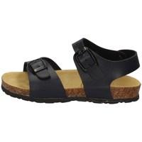 Schuhe Jungen Sandalen / Sandaletten Evoca EJ606A BLAU