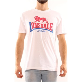 Kleidung Herren T-Shirts Lonsdale LOUPE20209 WEISS