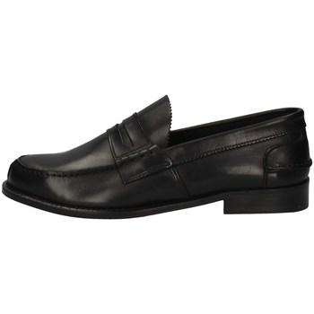 Schuhe Herren Slipper Hudson COLLEGE SCHWARZ