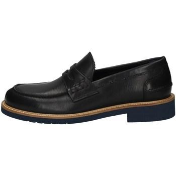 Schuhe Herren Slipper Hudson 334 BLAU