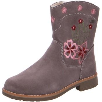 Schuhe Mädchen Low Boots Salamander Stiefel Fari 33-17212-27 stone Suede Tex 33-17212-27 beige