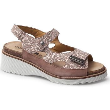 Schuhe Damen Sandalen / Sandaletten Calzamedi SANDAL  THANA BEIGE