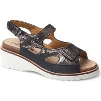 Schuhe Damen Sandalen / Sandaletten Calzamedi SANDAL  THANA SCHWARZ