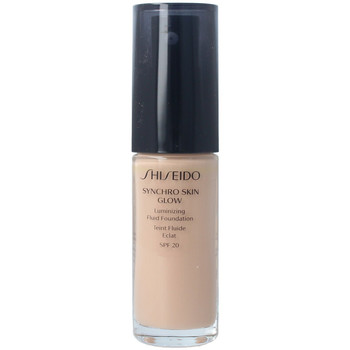 Beauty Damen Make-up & Foundation  Shiseido Synchro Skin Glow Luminizing Fluid Foundation r3 30 ml