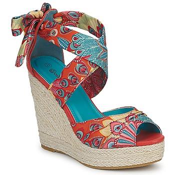 Schuhe Damen Sandalen / Sandaletten Moony Mood FIRNIL Multifarben