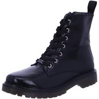 Schuhe Damen Low Boots Black Stiefeletten 262453-008 schwarz
