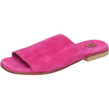 Schuhe Damen Pantoffel Moma BK107 pink