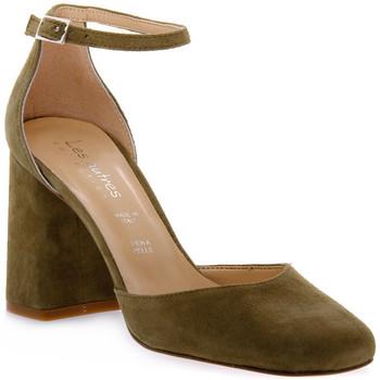 Schuhe Damen Pumps Priv Lab KAKY CAMOSCIO Verde