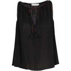 Kleidung Damen Tops / Blusen See U Soon 20111143 Schwarz