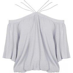 Kleidung Damen Tops / Blusen See U Soon 20111182 Grau