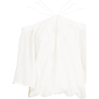 Kleidung Damen Tops / Blusen See U Soon 20111182 Weiss