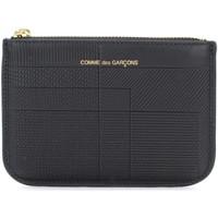 Taschen Portemonnaie Comme Des Garcons Etui Intersection in schwarzem Schwarz