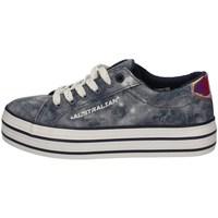 Schuhe Damen Sneaker Low Australian AU855 BLUE