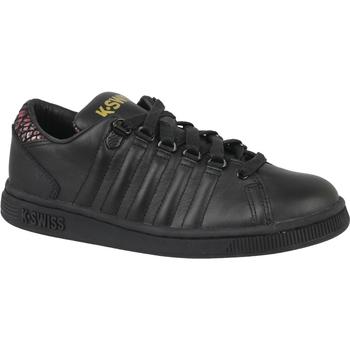 Schuhe Kinder Sneaker Low K-Swiss Lozan III TT noir
