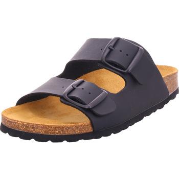 Schuhe Damen Pantoffel Bold - 0014-02 schwarz