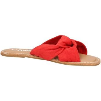 Schuhe Damen Pantoffel Refresh 69687 Pantoffeln Frau rot rot
