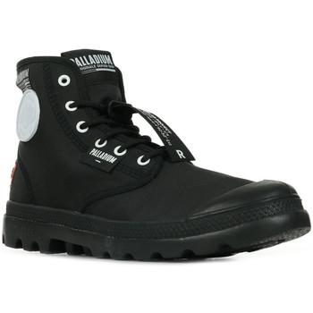Schuhe Boots Palladium Manufacture Pampa Lite Overlab Schwarz