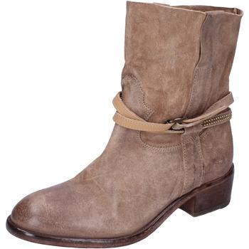 Schuhe Damen Low Boots Moma BK169 beige