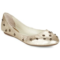Schuhe Damen Ballerinas Mosquitos BLUES-M Goldfarben