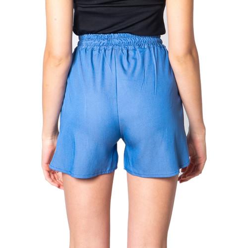 One.0 P3556T134 Blu - Kleidung Shorts / Bermudas Damen 3590 iIYa7