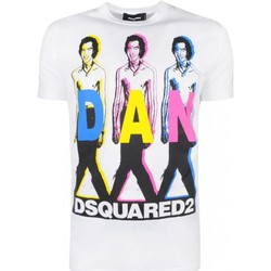 Kleidung Herren T-Shirts Dsquared S74GD0498 Weiss