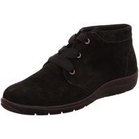 Schuhe Damen Boots Semler Schnuerschuhe Michelle M80153-042-001 Samtchevro M80153-042-001 schwarz