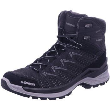 Schuhe Herren Wanderschuhe Lowa Sportschuhe INNOX PRO GTX MID 310703/9930 schwarz
