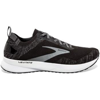 Schuhe Herren Laufschuhe Brooks Levitate 4 M Schwarz