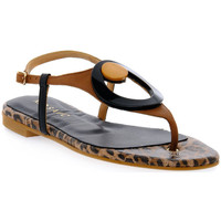 Schuhe Damen Sandalen / Sandaletten Priv Lab MOSAIC MORO ALLURE Marrone