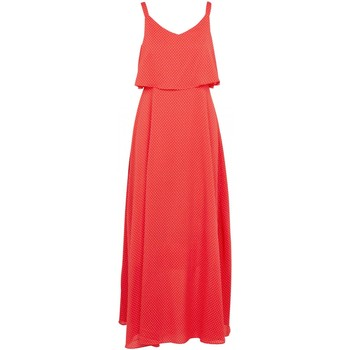 Kleidung Damen Maxikleider Molly Bracken T1202P20 Orange