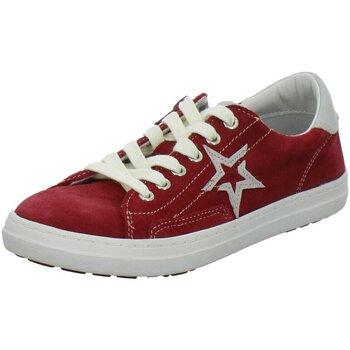 Schuhe Mädchen Sneaker Low Vado Schnuerschuhe Star 91002 332 91002/332 rot