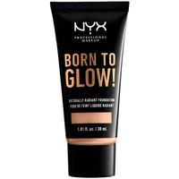 Beauty Make-up & Foundation  Nyx Professional Make Up Born To Glow Naturally Radiant Foundation light