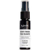 Beauty Haarstyling Nyx Dewy Finish Setting Spray Mini  18 ml