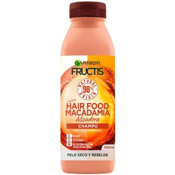 Beauty Damen Shampoo Garnier Fructis Hair Food Macadamia Champú Alisador  350 ml