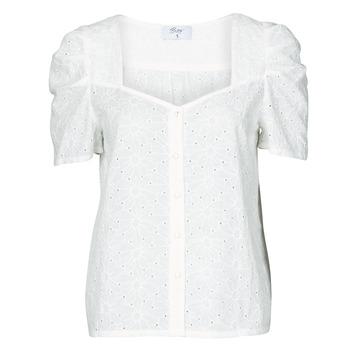 Kleidung Damen Tops / Blusen Betty London OOPSO Weiss