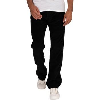 Kleidung Herren Straight Leg Jeans Lois Neue Dallas Jumbo Cord Jeans schwarz