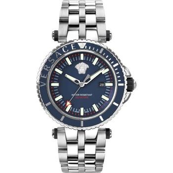 Uhren & Schmuck Herren Analoguhren Versace VEAK00418 blau