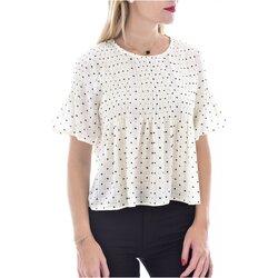 Kleidung Damen Tops / Blusen See U Soon 20119097B Weiss