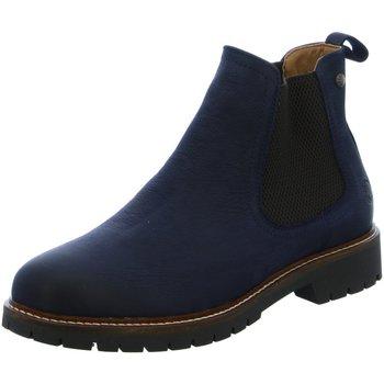 Schuhe Damen Low Boots Salamander Stiefeletten PINNEA 32-41709-12 blau